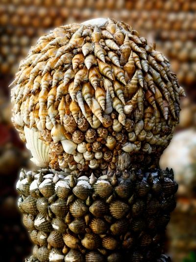 Figura con conchas (Tazones)