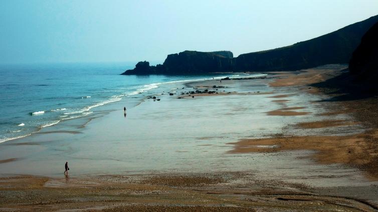 Playa de San Antolin en Llanes