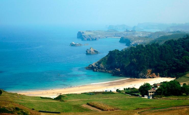 Playa de Toranda en el concejo de Niembro