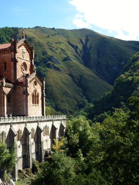 Paisaje Iglesia Covadonga