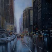 · Llovizna en New York City
