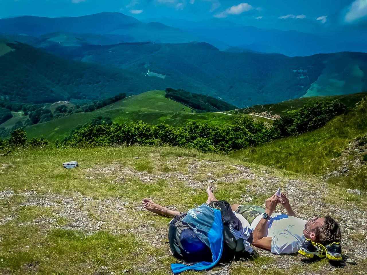 De Francia a España, cruzando los Pirineos por St. Jean Pied de Port hasta Roncesvalles. 1ª etapa del Camino deSantiago