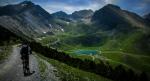 · Pirineos catalanes, descenso a la estación de esquí en Espot (Lleida)