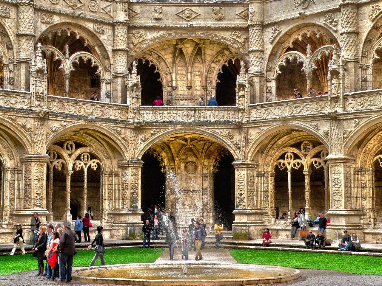 Monasterio de los Jerónimos, la joya de Belem enLisboa