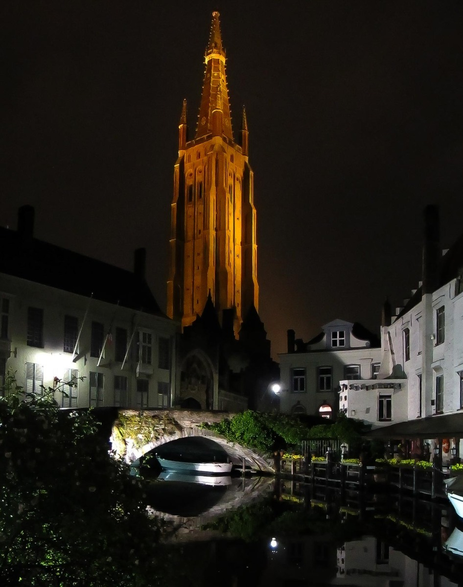 Bruges, a fairy tale in Belgium