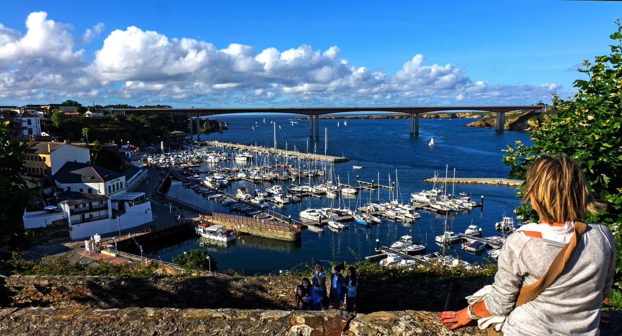 Ribadeo, bienvenidos a Galicia!