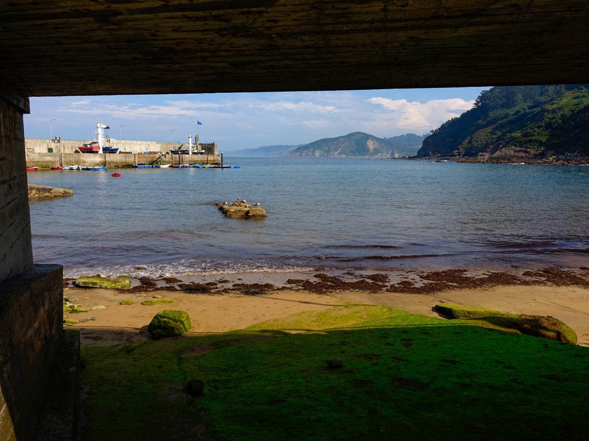 Tazones, antiguo puerto ballenero de Asturias