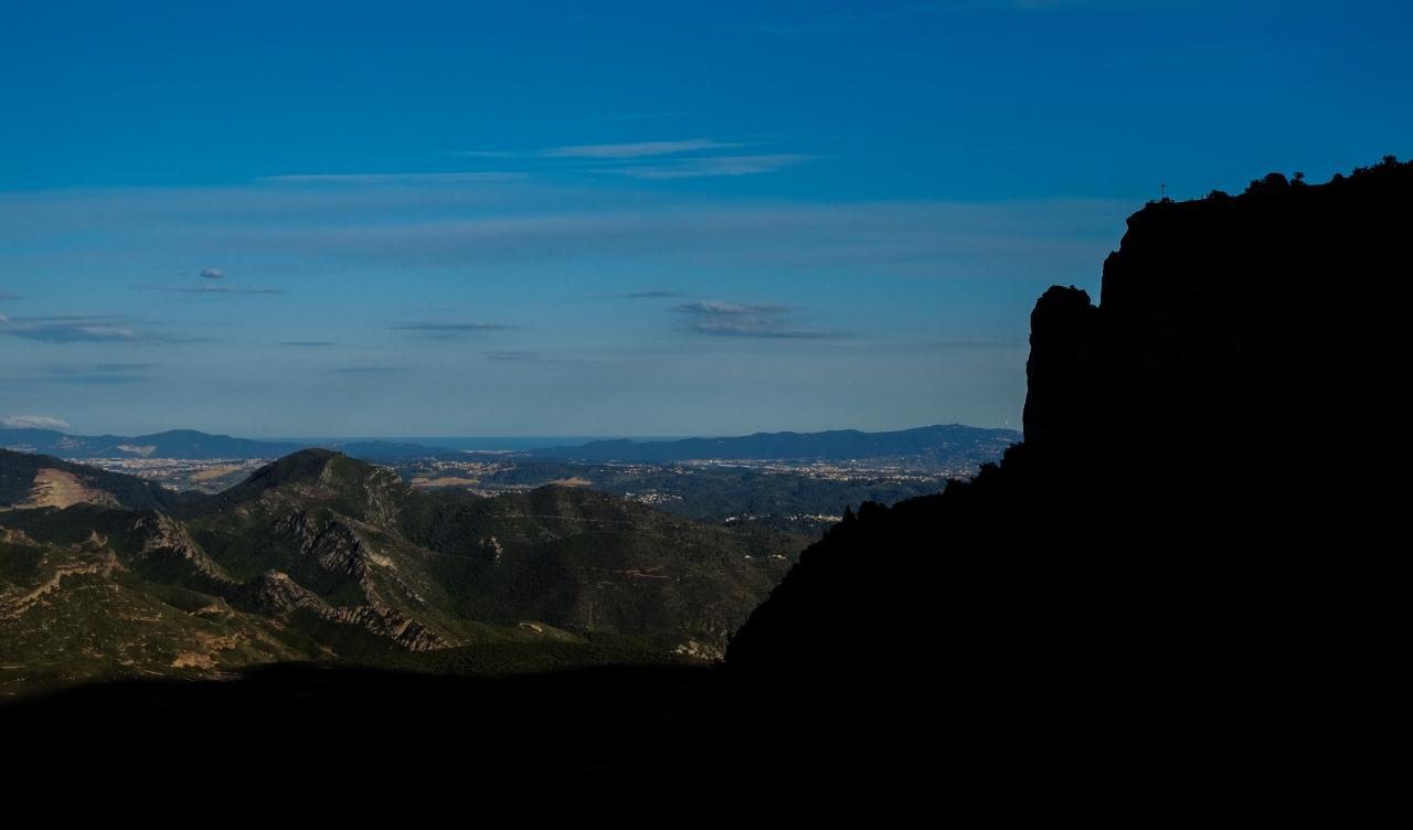 Las Montañas de Montserrat miran alMediterráneo