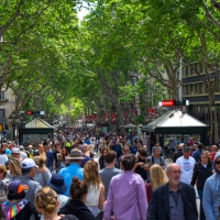 Un paseo por las Ramblas de Barcelona
