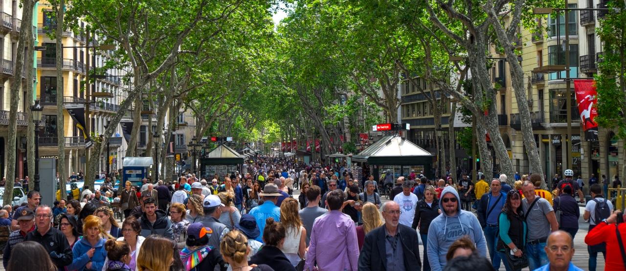Un paseo por las Ramblas deBarcelona