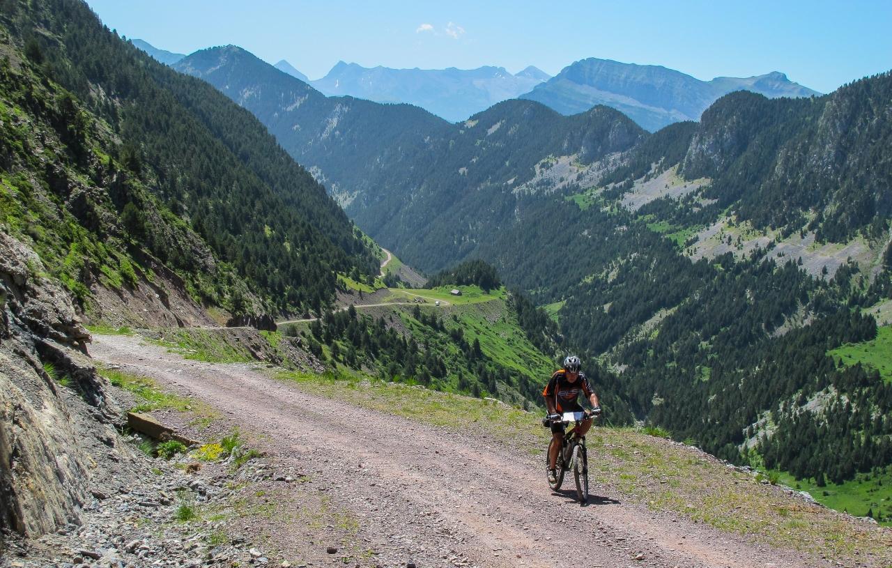 Ruta circular en BTT por el Valle de Pineta, Pirineo deHuesca