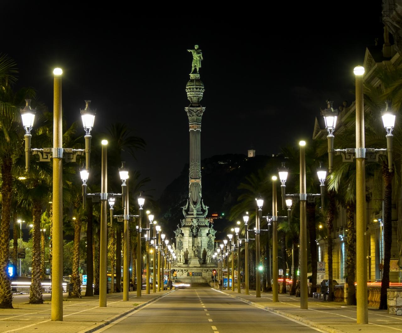Passeig de Colom,Barcelona