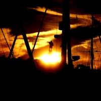 Anochece en el Port Vell  (2ª parte)