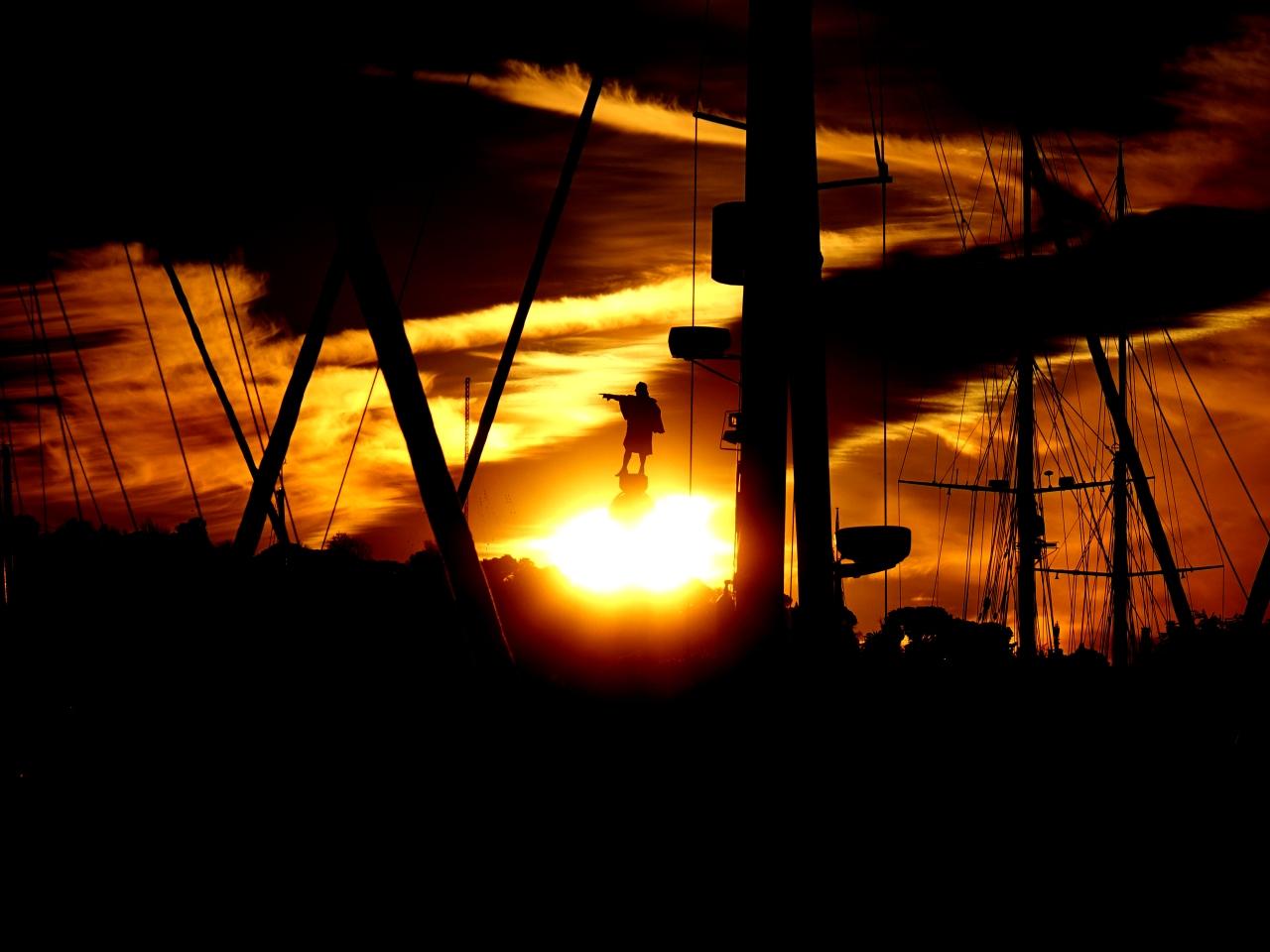 Anochece en el Port Vell (2ªparte)
