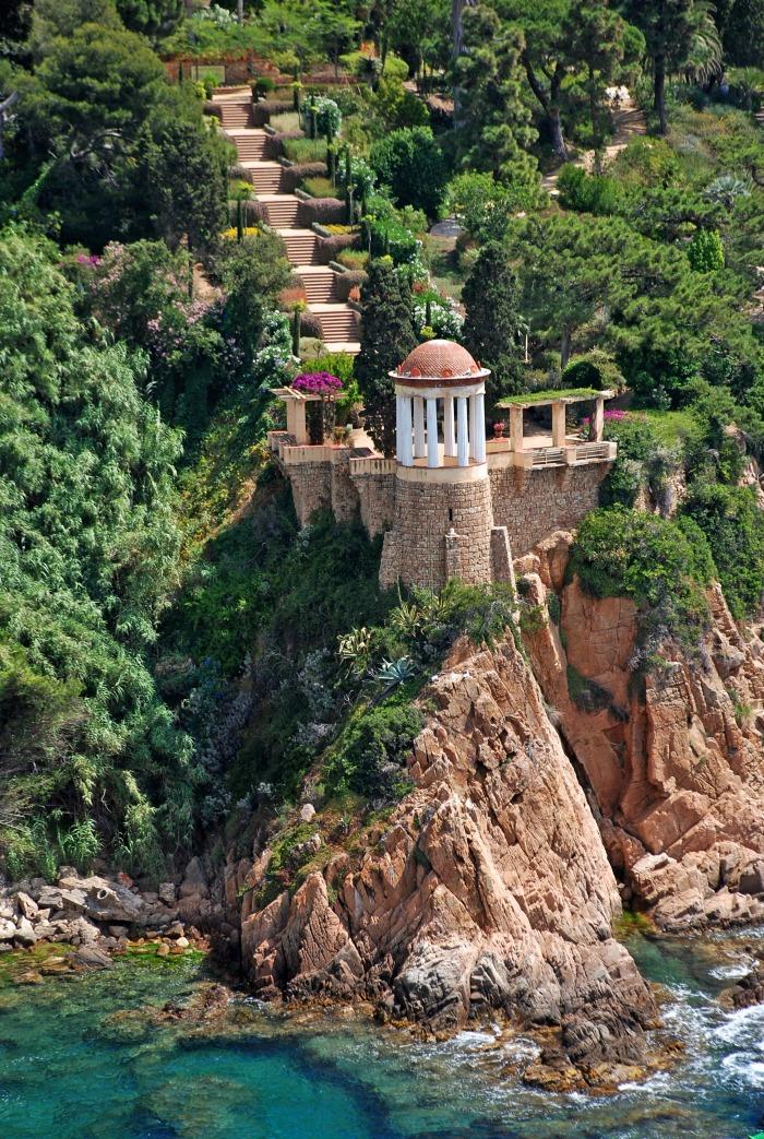 Marimurtra el jard n bot nico de blanes jacint for El jardin de l abadessa