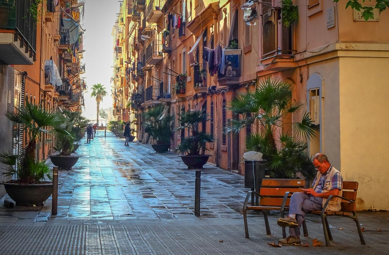 Barrio de laBarceloneta