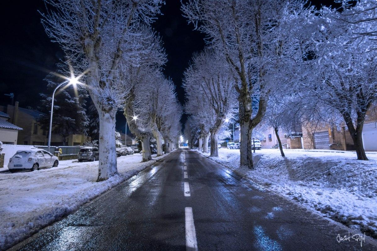 Ha nevat a Seva, comarca d'Osona