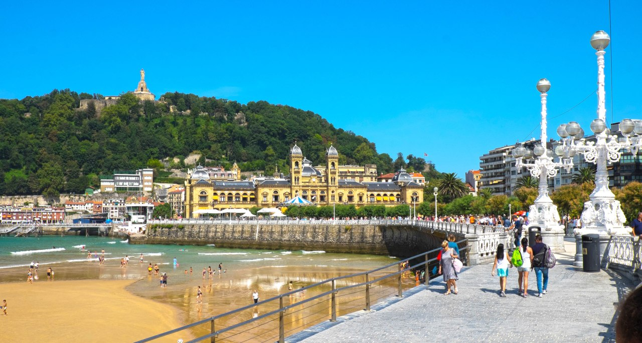 San Sebastián, la perla delCantábrico