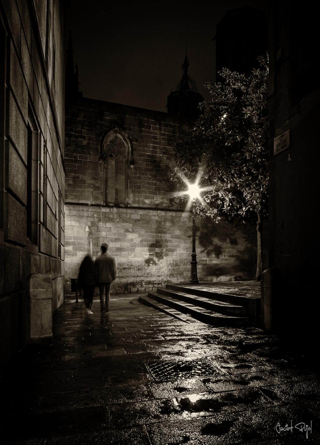 Paseando por el barrioGótico