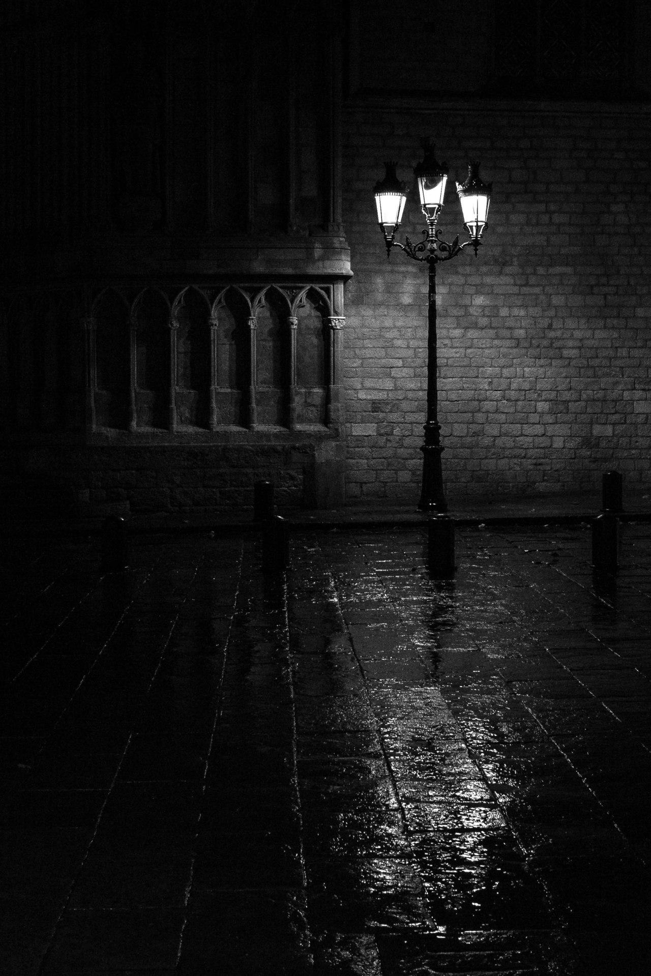 Composición fotográfica nocturna