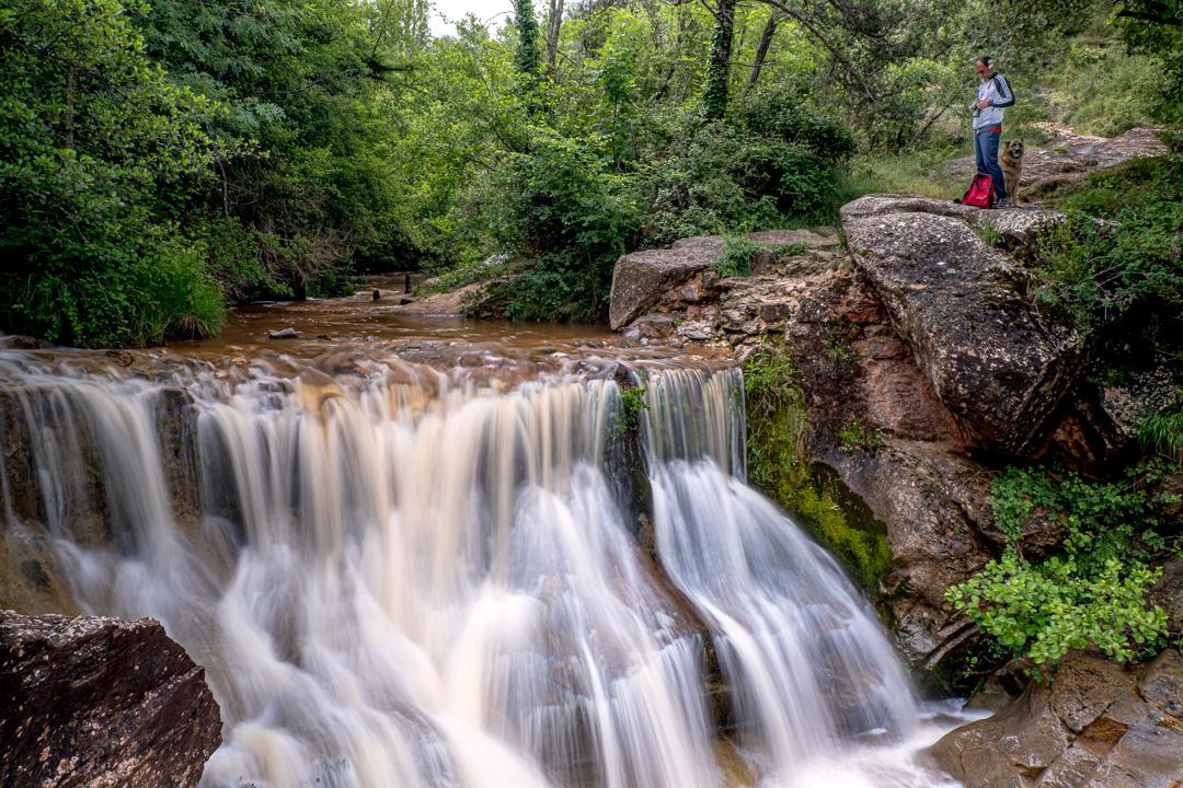 Río Gurri en 1/2 segundo deexposición