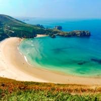 Playa de Torimbia, Llanes (Asturias)
