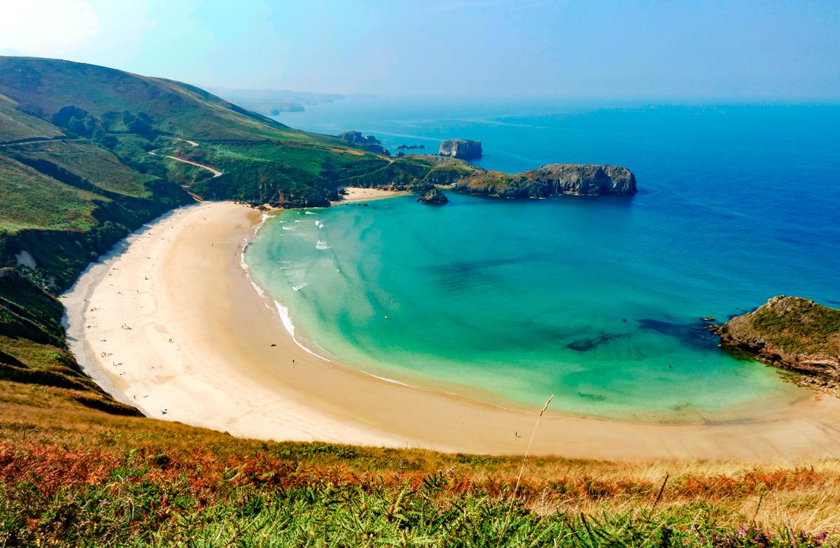 Playa de Torimbia, Llanes(Asturias)