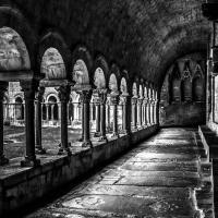 Claustro románico de la Catedral de Girona