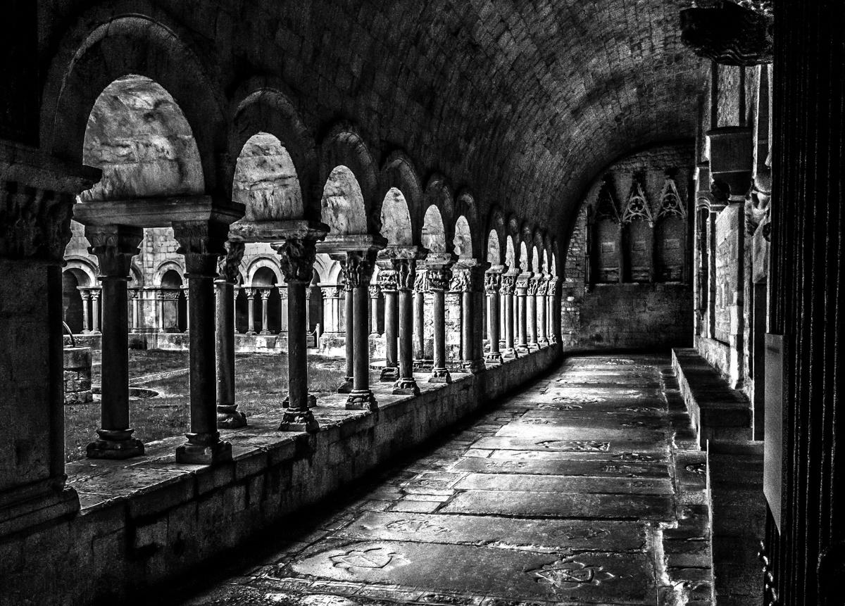 Claustro románico de la Catedral deGirona