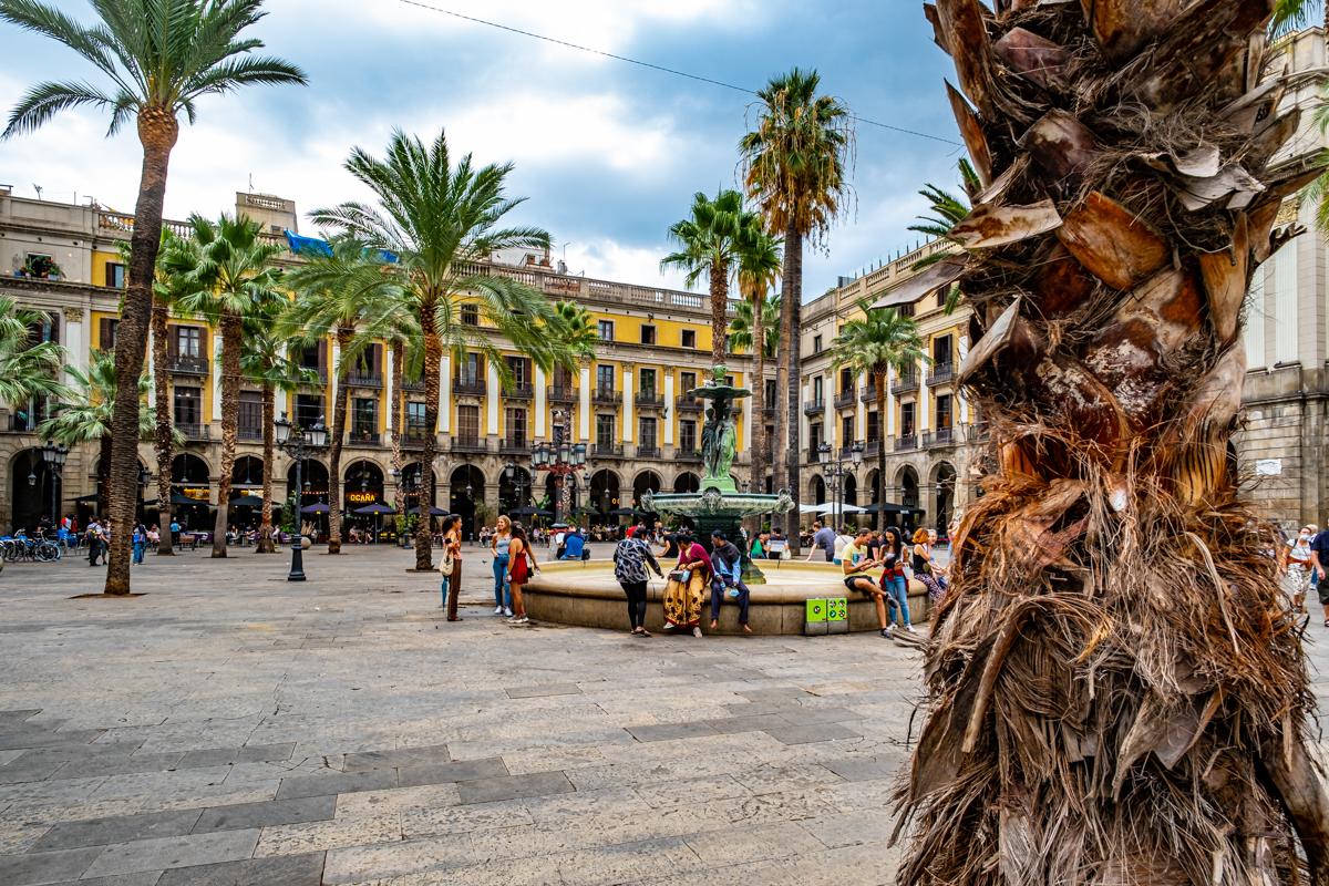 Plaza Real deBarcelona